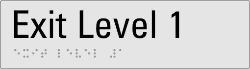 Exit level 1