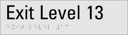 Exit level 13