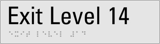 Exit level 14