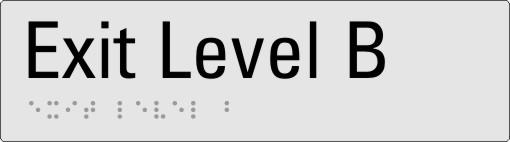 Exit level B