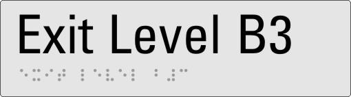 Exit level B3